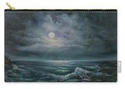 Moonlit Seascape Carry-all Pouch by Katalin Luczay