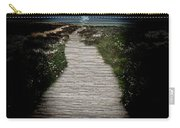 Moonlit Night At The Beach Carry-all Pouch
