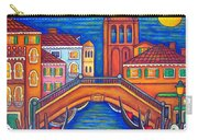 Moonlit San Barnaba Carry-all Pouch by Lisa  Lorenz