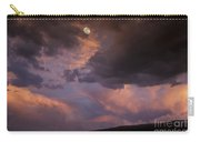Moonrise And Sunset Carry-all Pouch