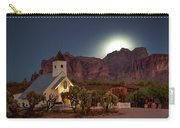 Moonrise At Superstition Mountain Carry-all Pouch