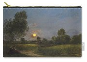 Moonrise Carry-all Pouch by Charles Francois Daubigny