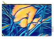 Moonrise In The Branches Carry-all Pouch