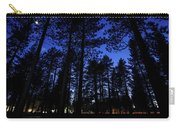 Moonrise In The Woods Carry-all Pouch by Margaret Pitcher