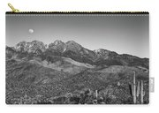 Moonrise Over Four Peaks Carry-all Pouch