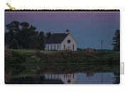 Moonrise Over Lake Badus Carry-all Pouch