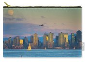 Moonrise Over San Diego Carry-all Pouch