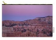Moonrise Over The Hoodoos Bryce Canyon National Park Utah Carry-all Pouch