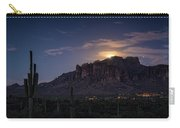 Moonrise Over The Superstitions Carry-all Pouch