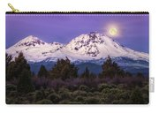 Moonset At Dawn Carry-all Pouch