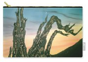 Moonset-bristlecone Pine Carry-all Pouch
