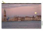 Moonset Over Venice Carry-all Pouch