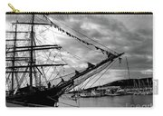 Moored At Hobart Bw Carry-all Pouch