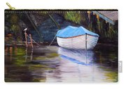 Moored Rowing Boat Carry-all Pouch