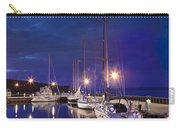 Moored Sailboats Carry-all Pouch