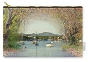 Moored Yachts In A Sheltered Bay Carry-all Pouch