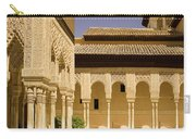 Moorish Architecture In The Nasrid Palaces At The Alhambra Granada Carry-all Pouch