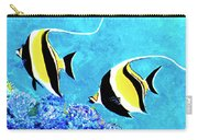 Moorish Idol Fish  #50 Carry-all Pouch