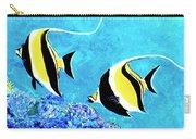 Moorish Idol Fish  #50 Carry-all Pouch