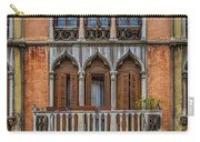 Moorish Style Windows Venice_dsc1450_02282017 Carry-all Pouch