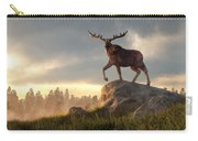 Moose At Dawn Carry-all Pouch