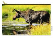 Moose At Jackson Hole Carry-all Pouch