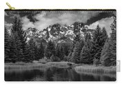 Moose At Schwabacher's Landing Carry-all Pouch by Gary Lengyel