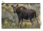 Moose Calf In Fall Colors Carry-all Pouch