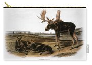Moose Deer (cervus Alces) Carry-all Pouch by Granger