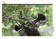 Moose Eating Crab Apple Tree Carry-all Pouch