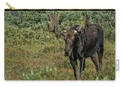 Moose In Shrubs Carry-all Pouch