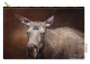 Moose Portrait Carry-all Pouch