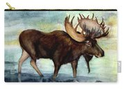 Moose Reflections Carry-all Pouch
