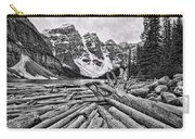 Moraine Lake Driftwood No 1 Carry-all Pouch