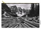 Moraine Lake Driftwood No 2 Carry-all Pouch