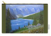 Moraine Lake, 16x20, Oil, '07 Carry-all Pouch