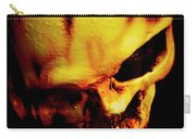 Morbid Decaying Skull Carry-all Pouch