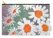 More Bunch Of Daisies Carry-all Pouch