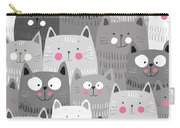 More Cats Carry-all Pouch