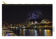 More Fireworks At Newcastle Quayside On New Year's Eve Carry-all Pouch