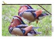 More Mandarin Ducks Carry-all Pouch