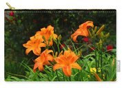 More Orange Daylilies Carry-all Pouch