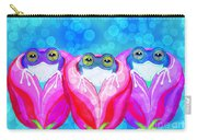 More Rose City Rain Frogs Carry-all Pouch