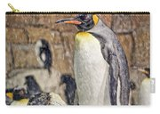 More Snow - King Penguin Carry-all Pouch