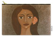 More Than Flowers She Sold Illusions Carry-all Pouch