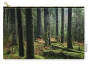 More Tree Trunks And Ferns Carry-all Pouch
