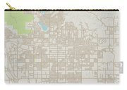 Moreno Valley California Us City Street Map Carry-all Pouch