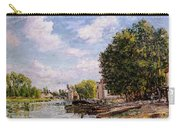 Moret-sur-loing Carry-all Pouch by Alfred Sisley