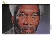 Morgan Freeman Portrait Carry-all Pouch