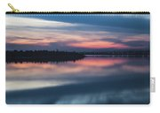 Morii Lake At Sunset Carry-all Pouch